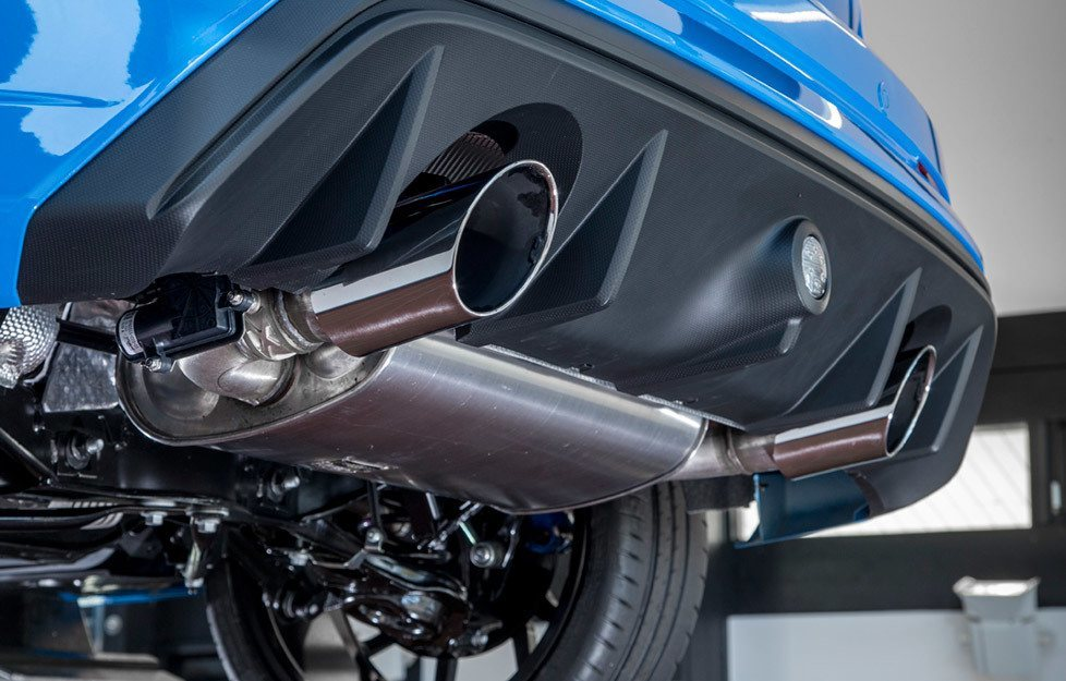 Focus RS Exhaust System