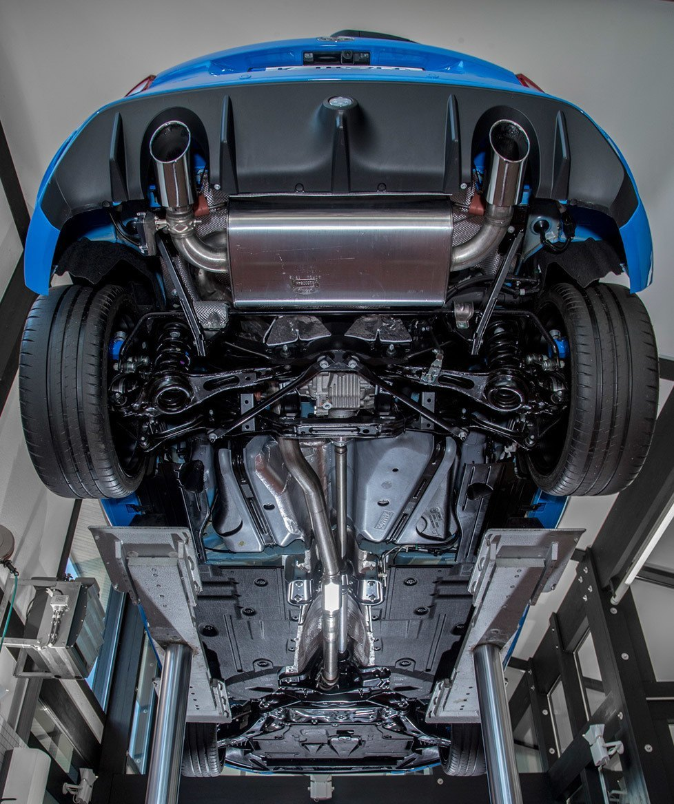 Full Focus RS Standard Exhaust System