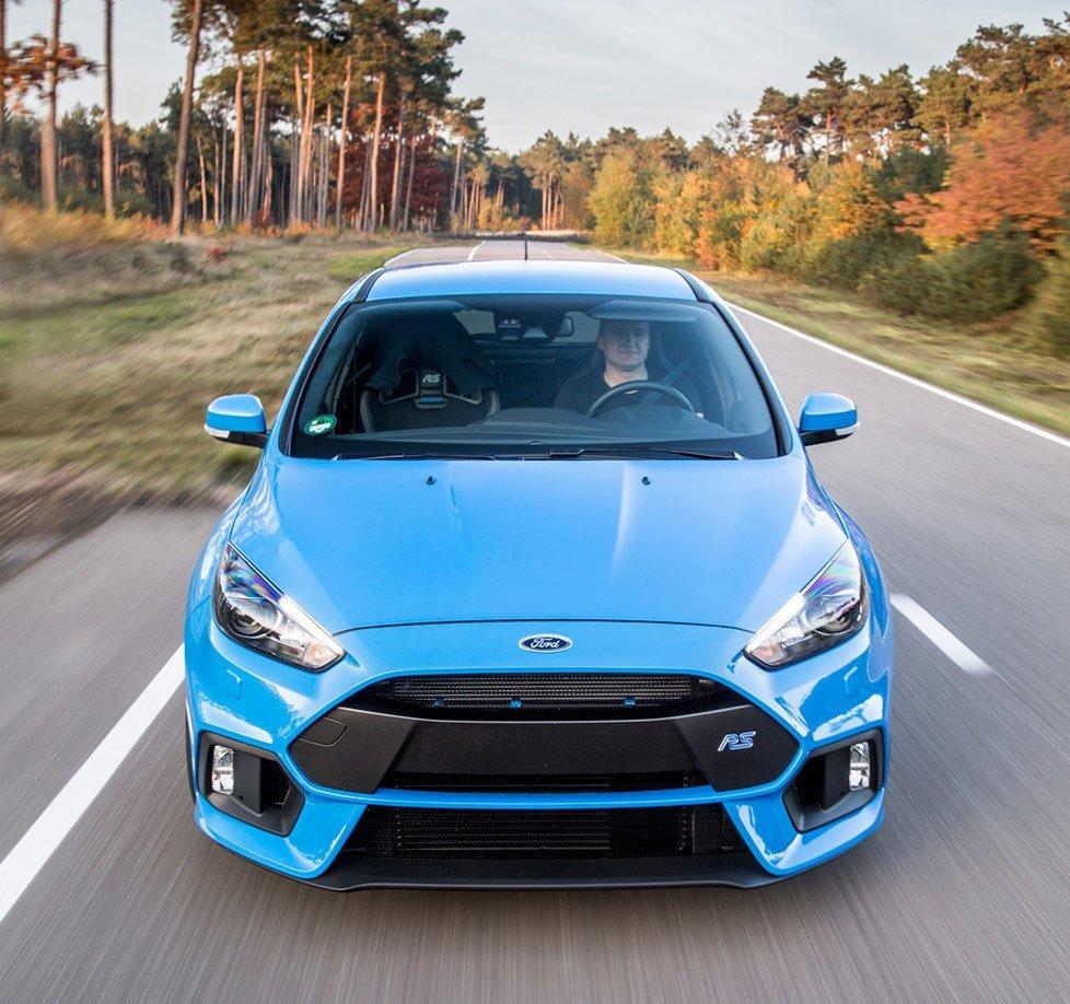 Focus RS Accelerating