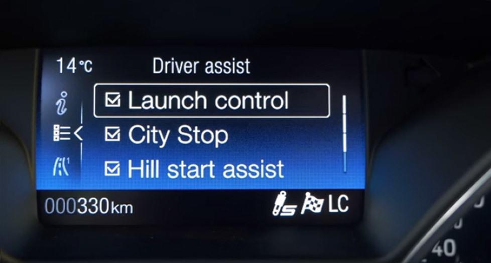 Focus RS Launch Control