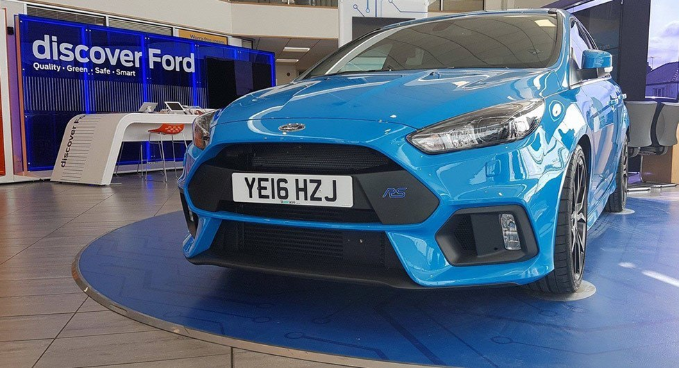 Focus RS in Showroom