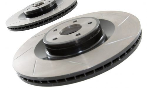 Mountune Front Grooved Brake Discs