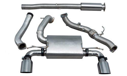 Cobra Valveless Non Res Decat Exhaust