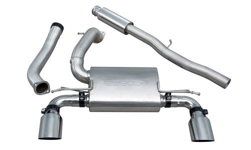 Cobra Cobra Sport Valved Resonated Cat Back Exhaust Focus RS