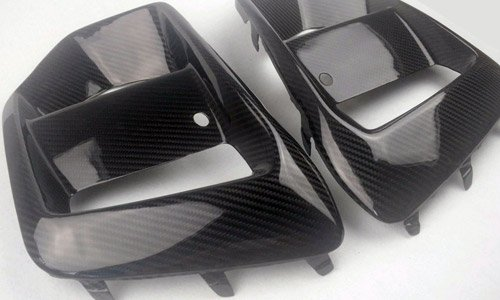 Kuro Carbon Fog Light Surropunds Mk3 Focus RS