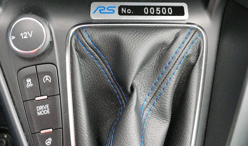 Focus RS Mk3 Unique Build Number Plaque