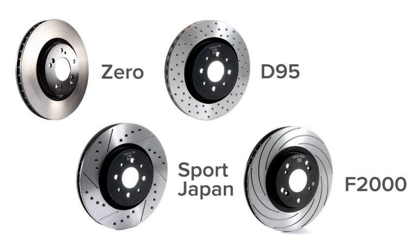 Tarox Bespoke Disc Types
