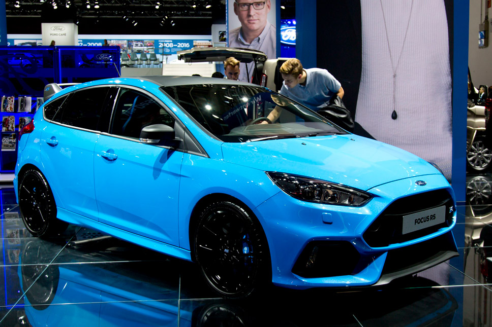 Focus RS Mk3 Limited Edition Showroom