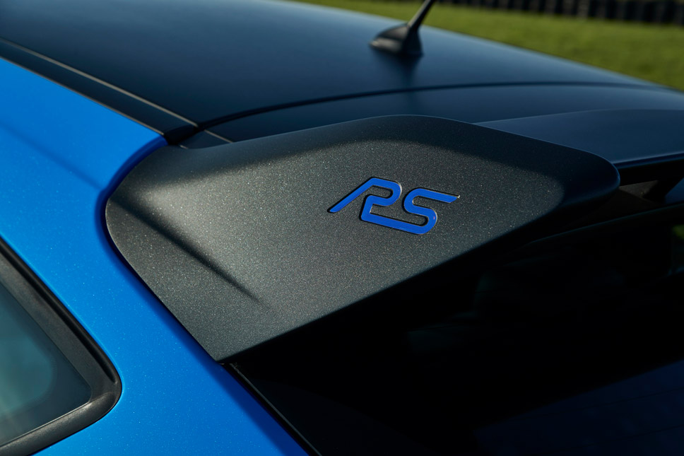 Focus RS Mk3 Limited Edition Black Spoiler