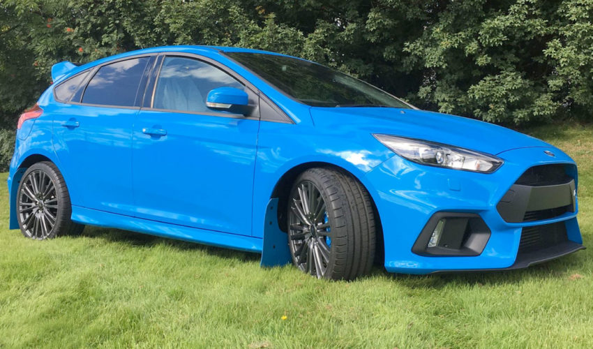 Blue Mudflaps MK3 Focus RS