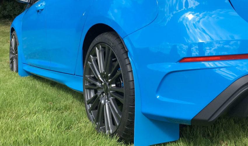Nitrous Blue Mudflaps MK3 Focus RS