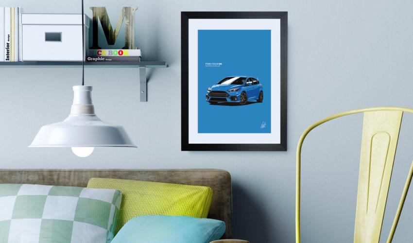 Focus RS Framed Print
