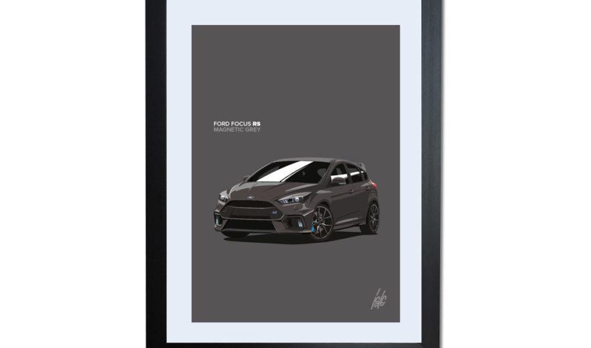 Magnetic Grey Focus RS Artwork