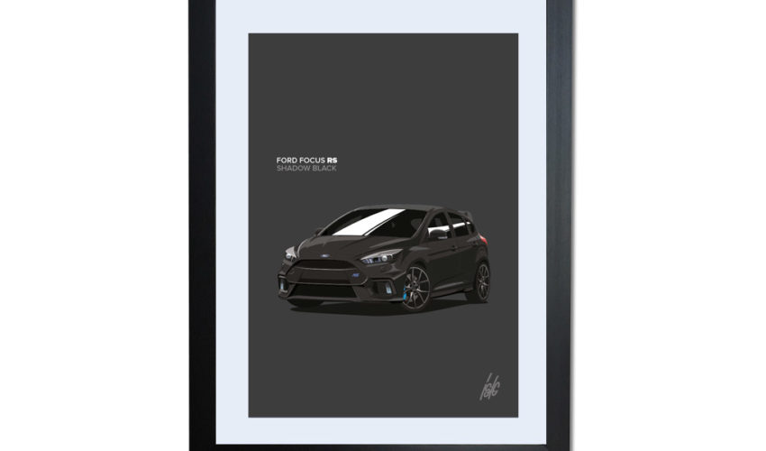 Shadow Black Focus RS Artwork