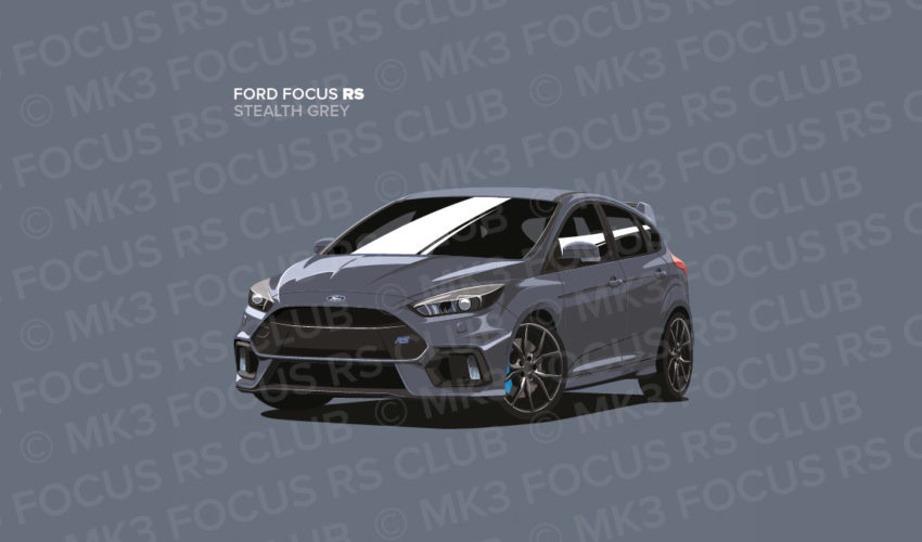 Stealth Grey Focus RS Picture