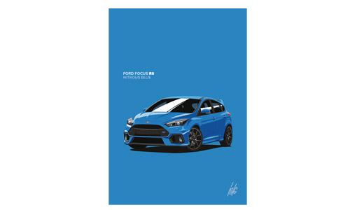 Nitrous Blue Print Only