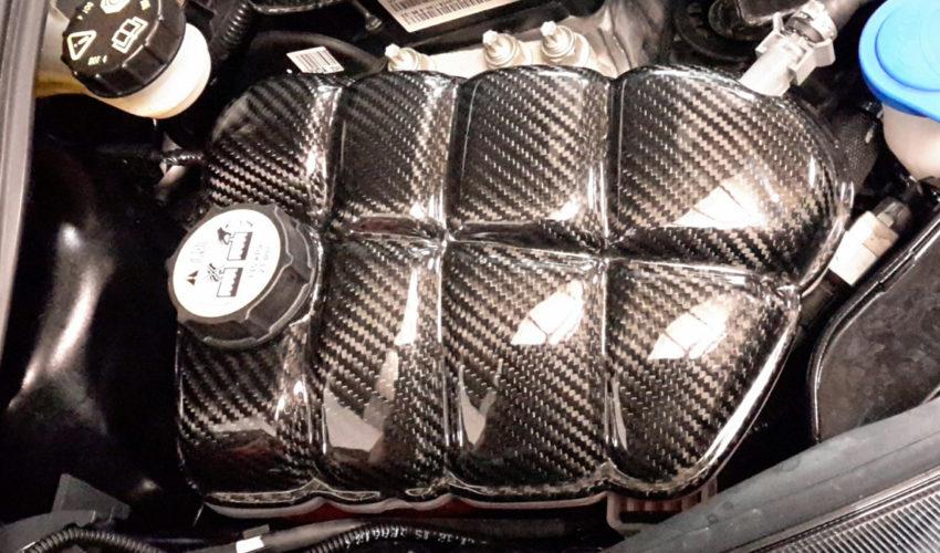 Kuro Carbon Coolant Tank Cover MK3 Focus RS