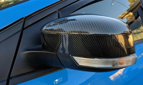 Kuro Carbon Mirrors Mk3 Focus RS