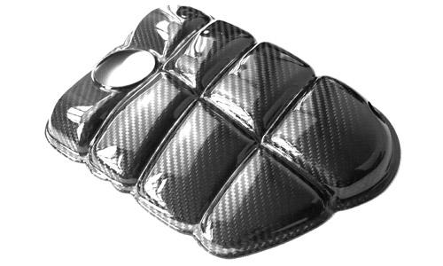 Kuro Carbon Coolant Tank Cover