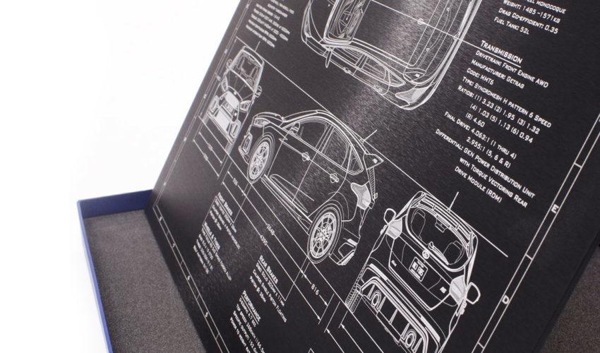 BlackArt Focus RS Laser Engraved Wall Plaque