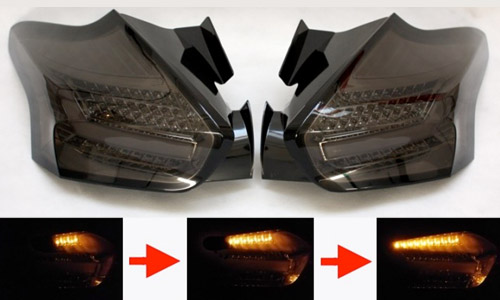 quantiTEC Sequential LED Taillights