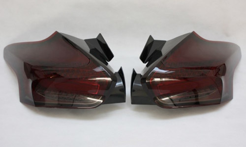 Red Smoked Rear LED Lights Mk3 Focus RS
