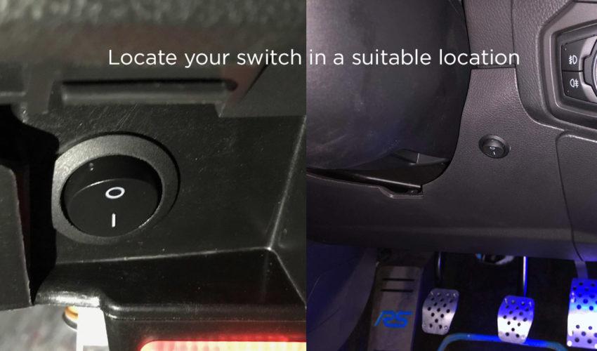 T1 Rain Light Flasher Unit Switch