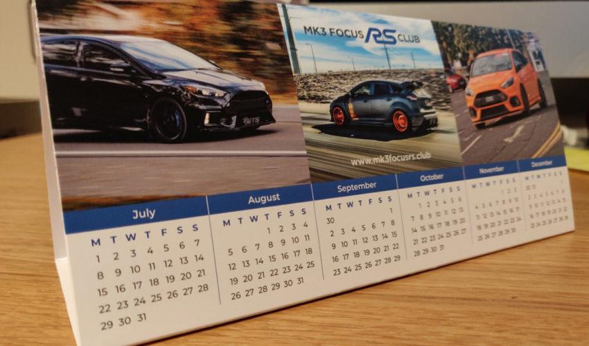 Focus RS Desktop Calendar 2019