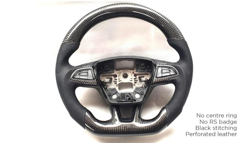 Kuro Carbon Steering Wheel Mk3 Focus RS