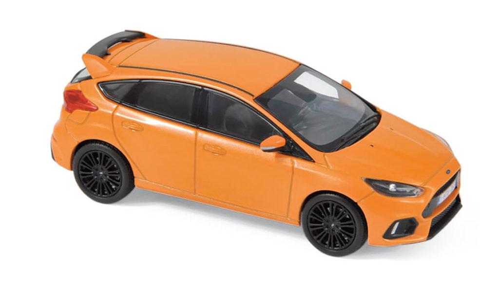 NoRev Orange Focus RS Mk3