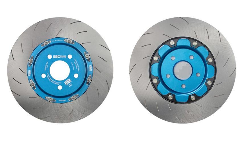 EBC Nitrous Blue Brake Discs Front