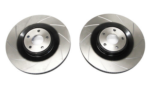 AutoSpecialists Clubsport Grooved Front Discs