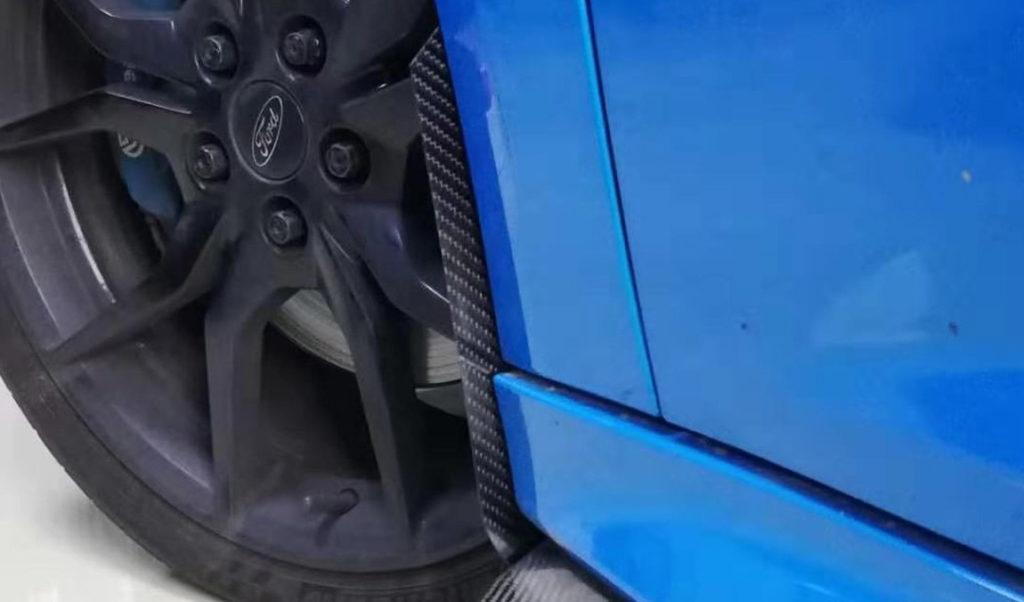 Carbon Fibre Arch Guards Mk3 Focus RS