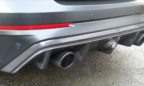 Kuro Carbon Rear Diffuser Mk3 Focus RS