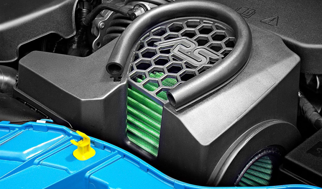 Green Cotton Air Filter Mk3 Focus RS