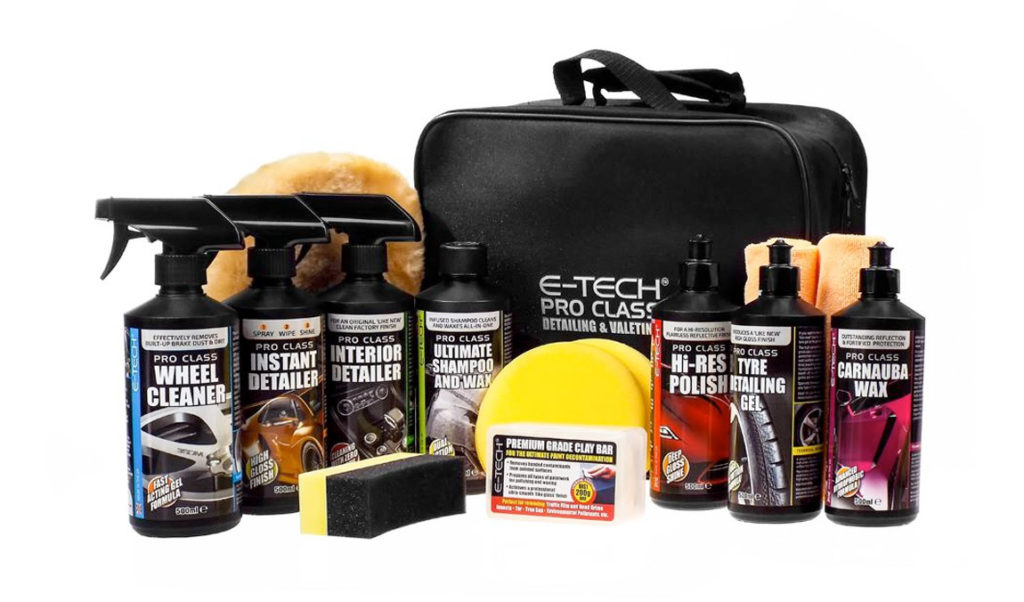 E-Tech Full Valeting Kit
