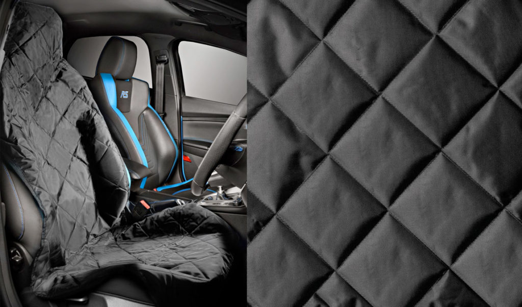 E-TECH ULTRO Premium Diamond Quilt Front Seat Cover