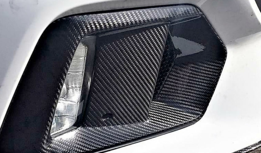 Carbon Fibre Fog Intakes Mk3 Focus RS