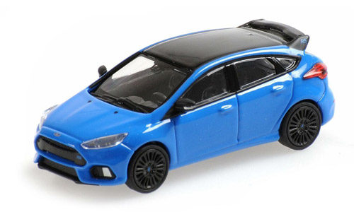 Minichamps 1:87 Scale Ford Focus Mk3 Blue Edition