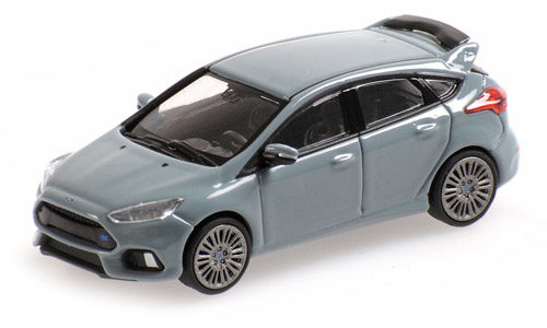 Minichamps 1:87 Scale Ford Focus Mk3 Grey