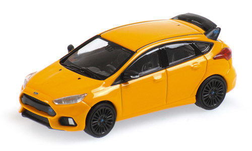 Minichamps 1:87 Scale Ford Focus Mk3 Orange