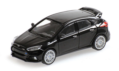 Minichamps 1:87 Scale Ford Focus Mk3 Black