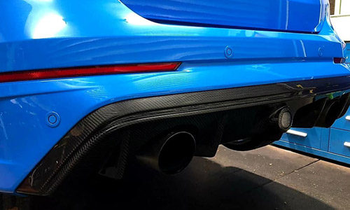 Carbon Fibre Rear Diffuser